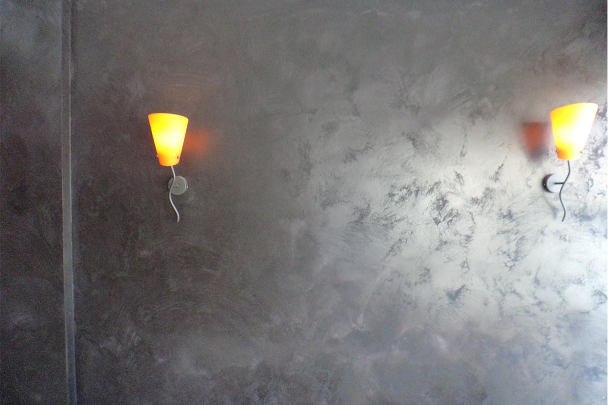 mur effet sable
